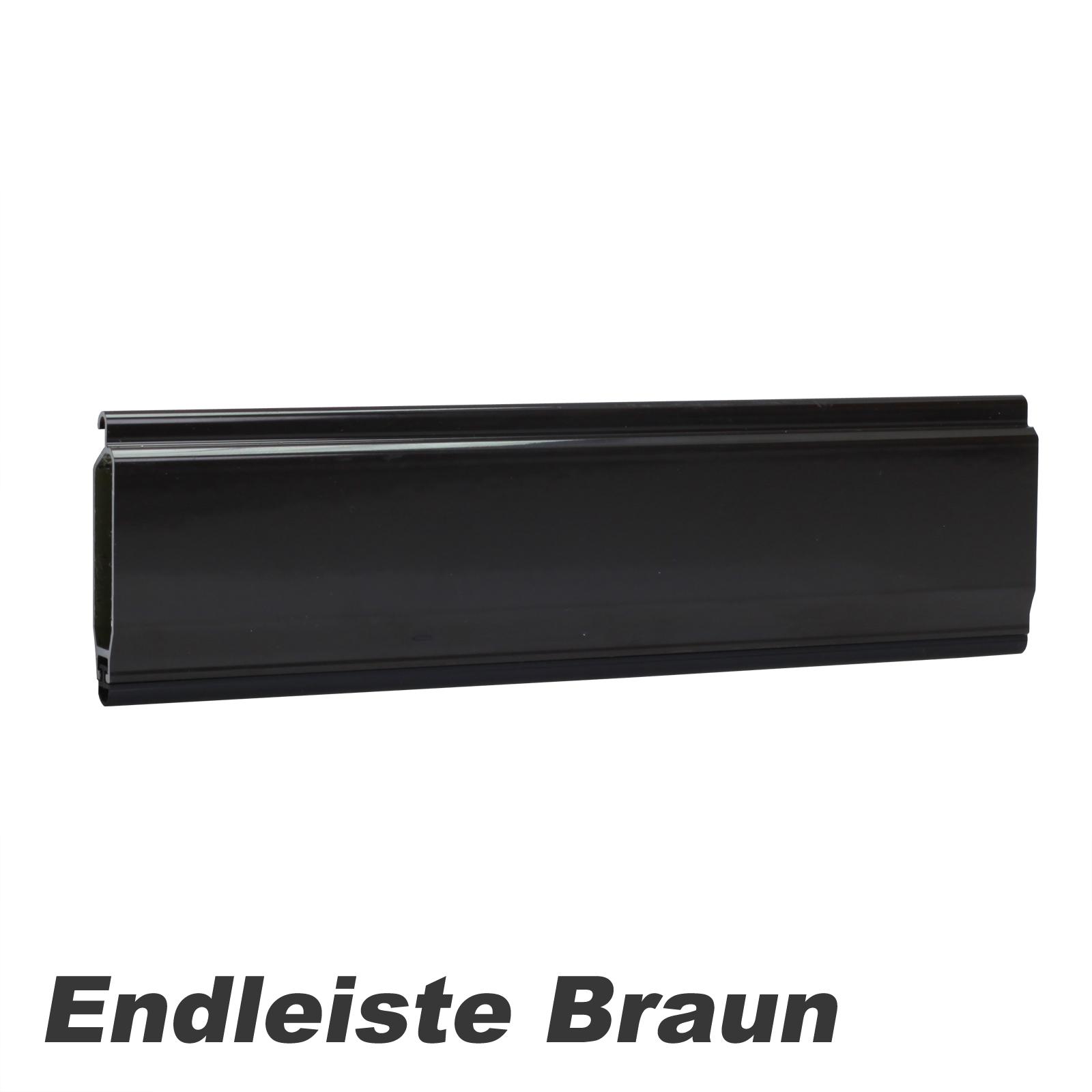 Mini Rolladenpanzer PVC 25,74 EUR//qm Ma/ßanfertigung Wunschma/ß 75cm-160cm Breite x 130cm H/öhe
