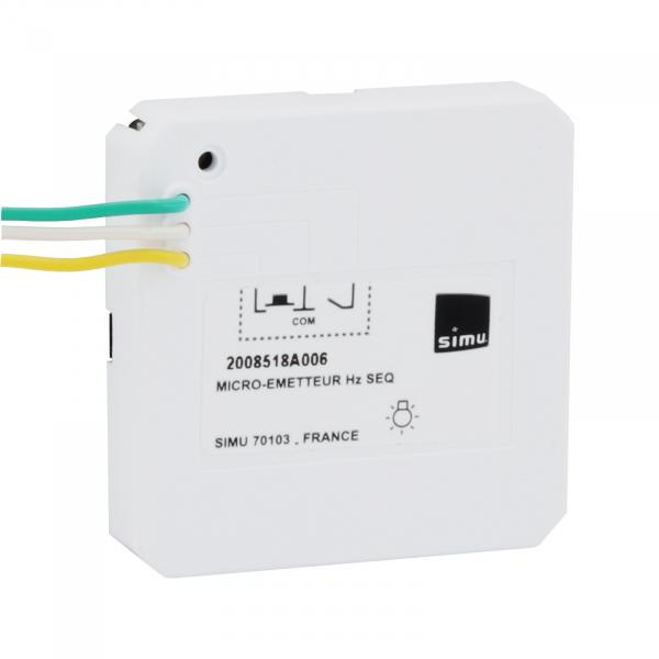 SIMU Hz Mikro Sender Licht sequentiell