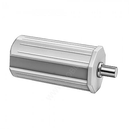 Mini Walzenkapsel 40mm Achtkant Länge 80mm