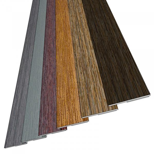 Farbige Fensterleiste / Flachleiste 30mm selbstklebend OHNE Lippe Stärke 1mm