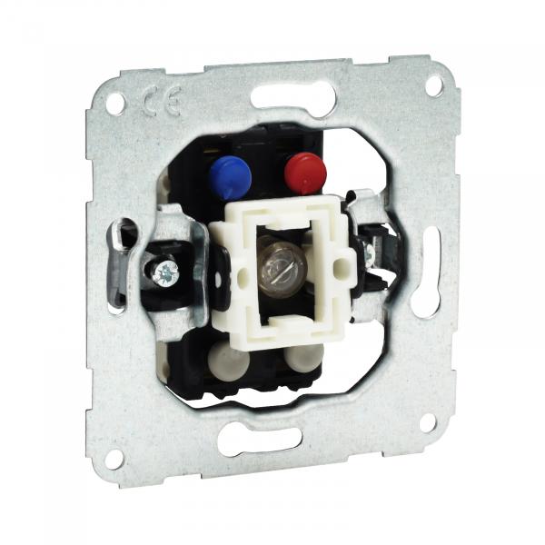 Presto-Vedder 51962 Kontroll-Ausschalter 2-polig m. Glimmlampe