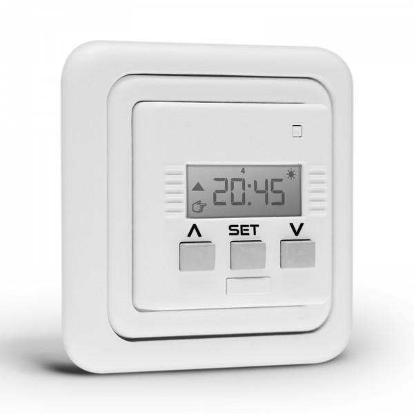 Rolladen Zeitschaltuhr Relax 50x50 SD ultraweiß