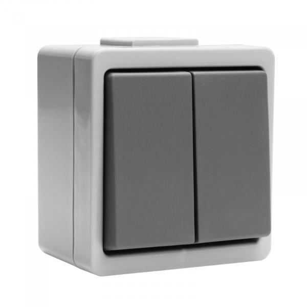 Presto-Vedder 936566UW Doppel-Wechselschalter