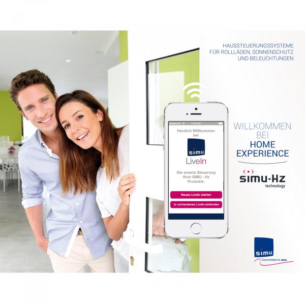 SIMU Hz LiveIn Stecker Smarthome f. Hz und RTS Produkte