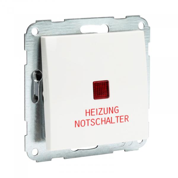 Presto-Vedder 31961HUW Fiorena Heizungsnotschalter m. Wippe 1-polig ultraweiss