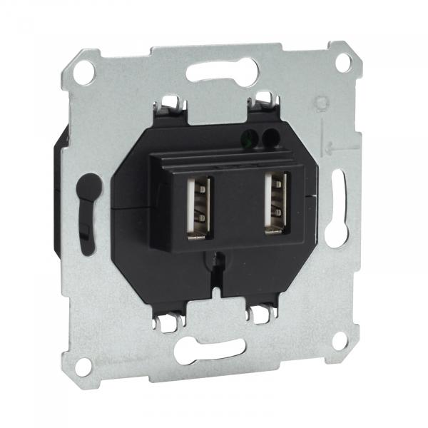 Presto-Vedder USB2SCH USB Spannungsversorgung/ Ladesteckdose 2-fach