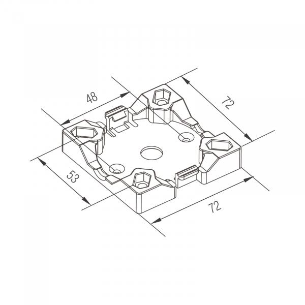 Profi-Line Motorlager Maxi 10-30 Nm