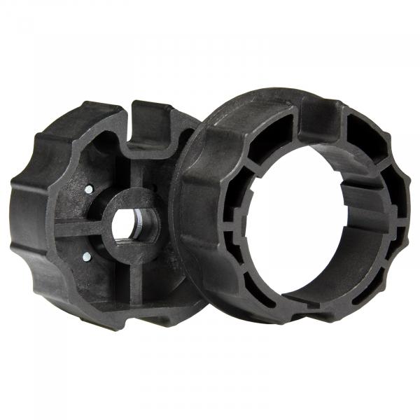 NOBILY Adaptersatz P 70 mm Rundnutwelle