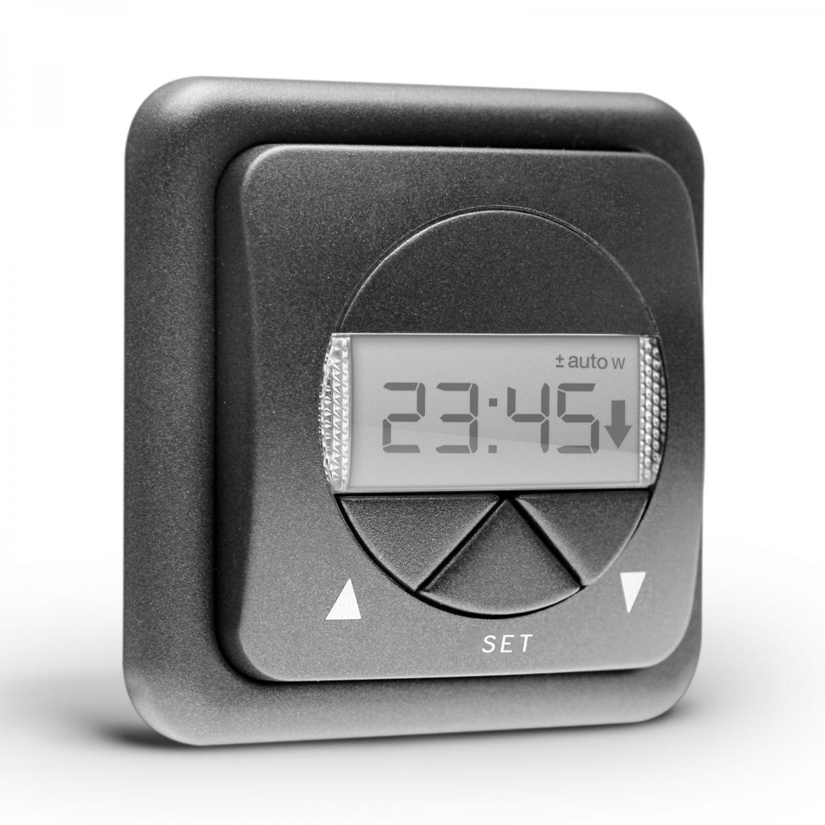 rolladen zeitschaltuhr steuerung f r rolladenmotor rohrmotor timer uhr nobily em ebay. Black Bedroom Furniture Sets. Home Design Ideas